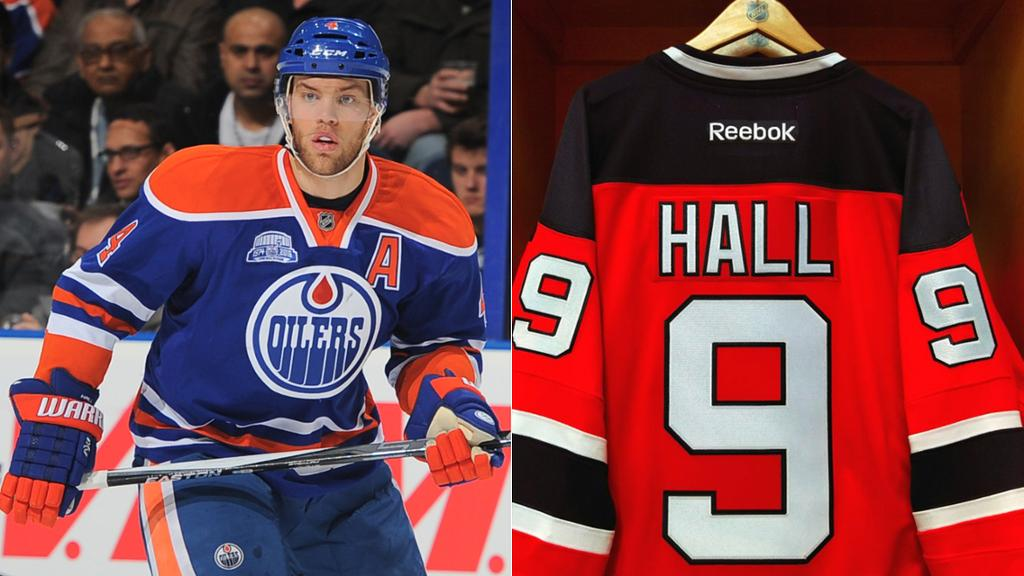Devils Taylor Hall Opts For Fresh Start With No 9