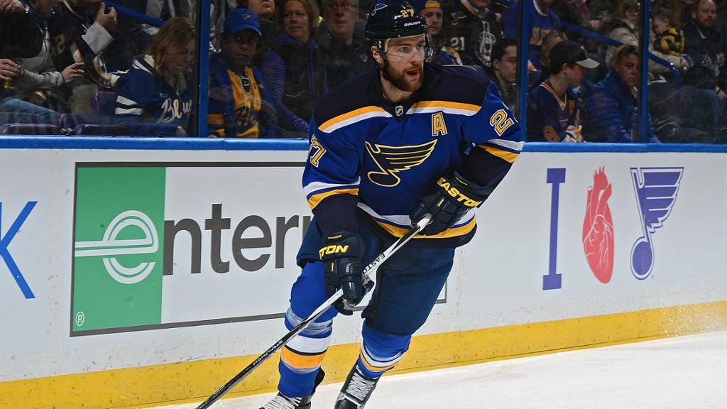 Alex Pietrangelo To Be Named Blues Captain Report