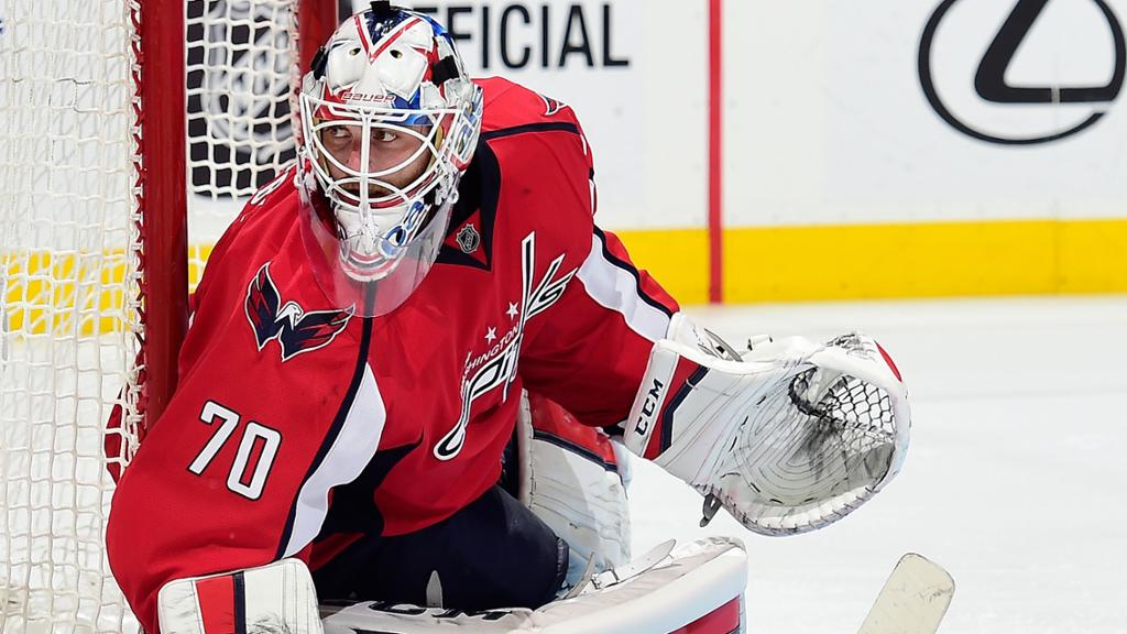 Braden Holtby Focused On Improving Capitals Success