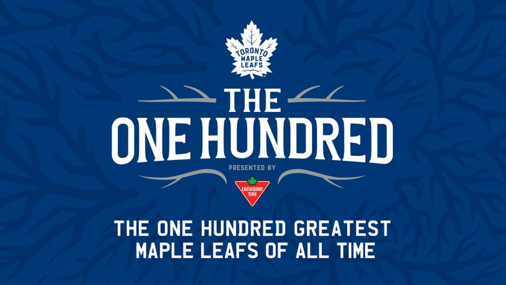 Toronto Maple Leafs Unveil The One Hundred