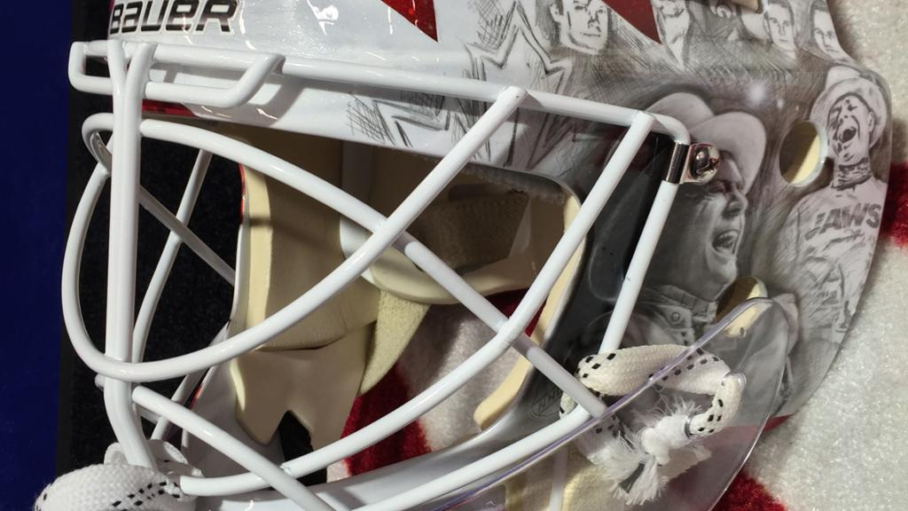 Braden Holtby Mask Auction Raises More Than 27 000