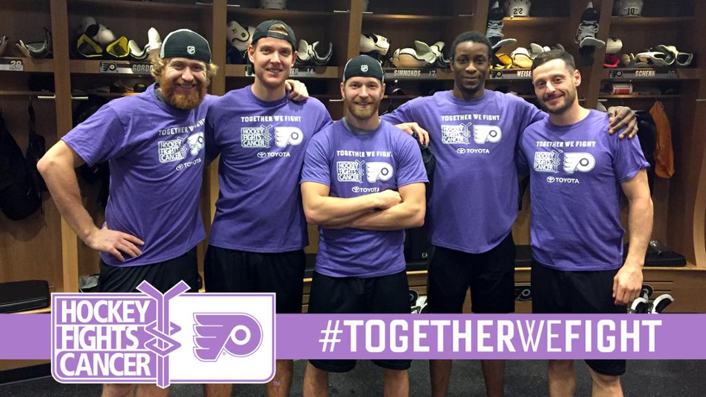 Flyers To Host Hockey Fights Cancer Night On 11 2