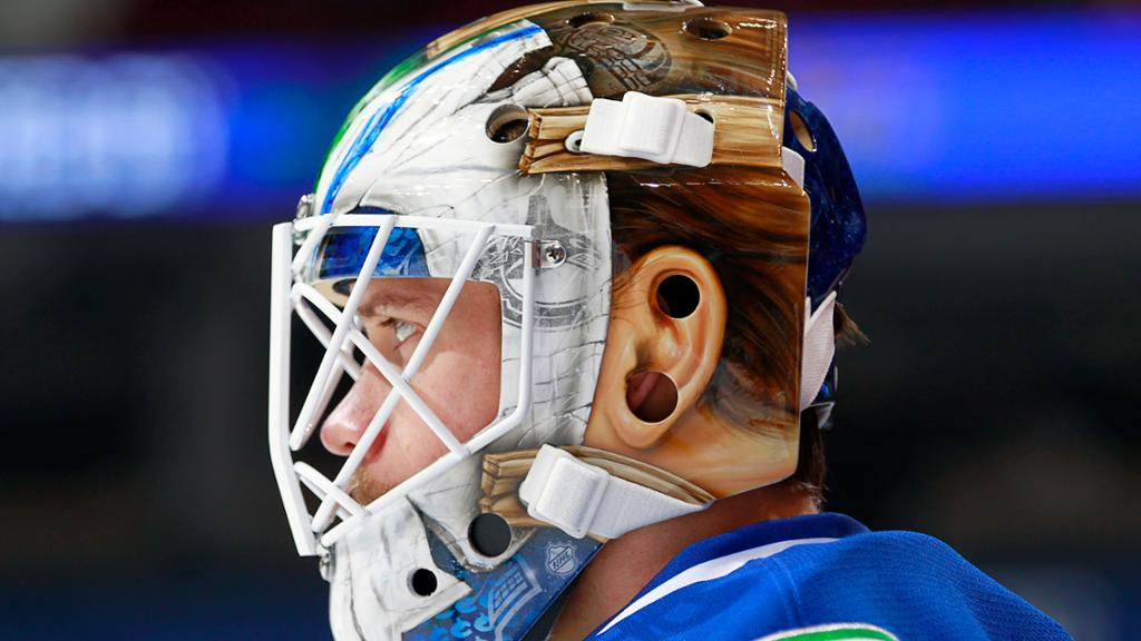 Jacob Markstrom S New Goalie Mask Is Sick Throwback