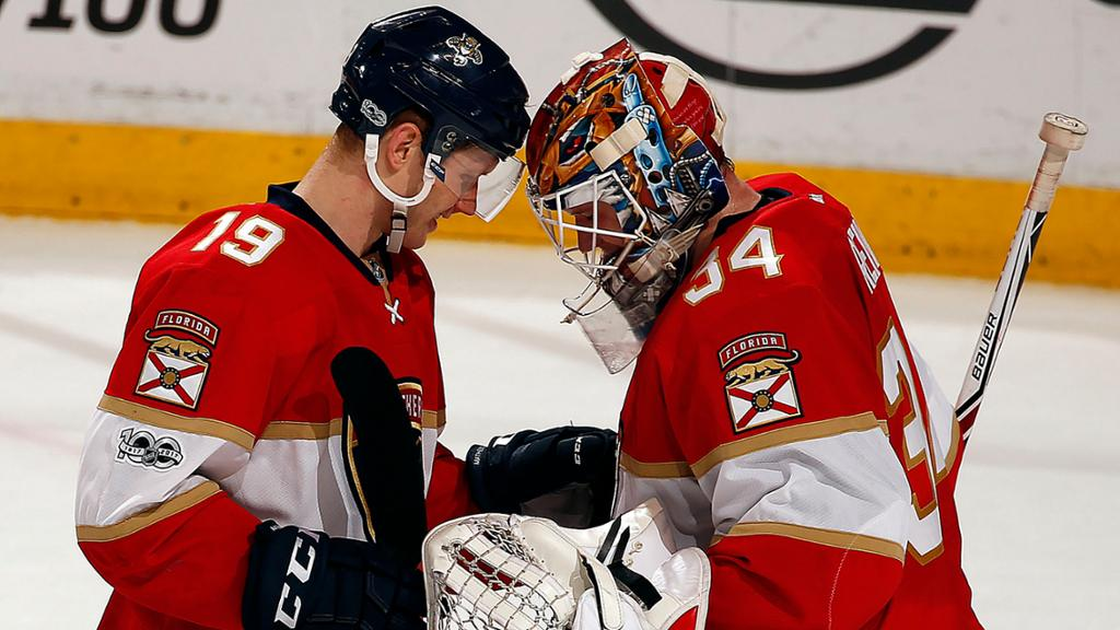 James Reimer lifts Panthers in unexpected start