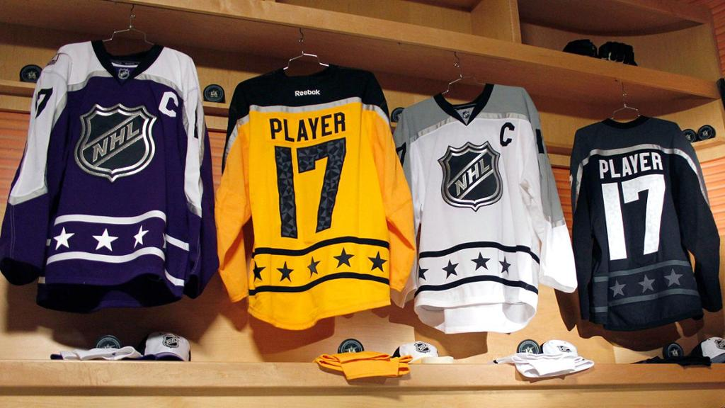 Check out the new jerseys for the NHL All-Star Game