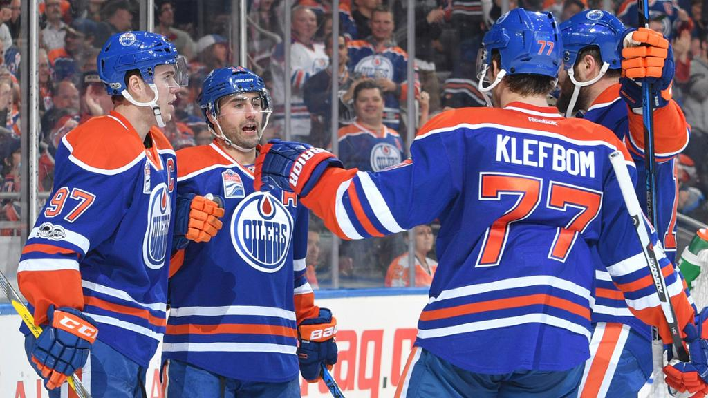 Connor Mcdavid One Of Six Oilers To Score In Win