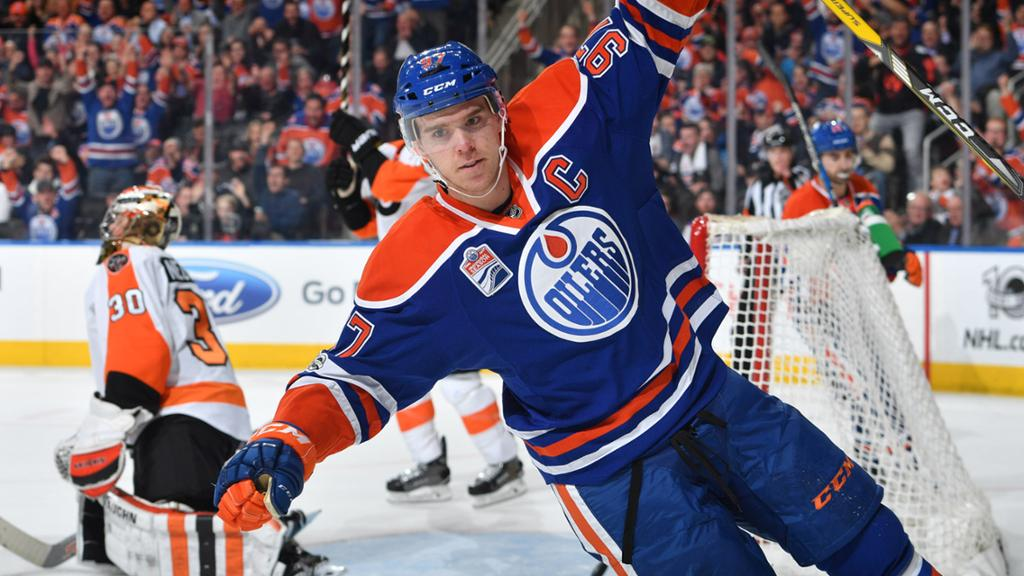 Game Story Oilers 6 Flyers 3