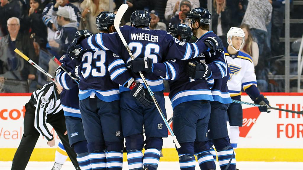 Jets Win Biggest Game Of The Season 3 0 Over Blues