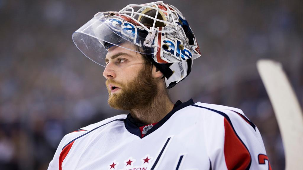 Braden Holtby Ok After Collision During Capitals Practice