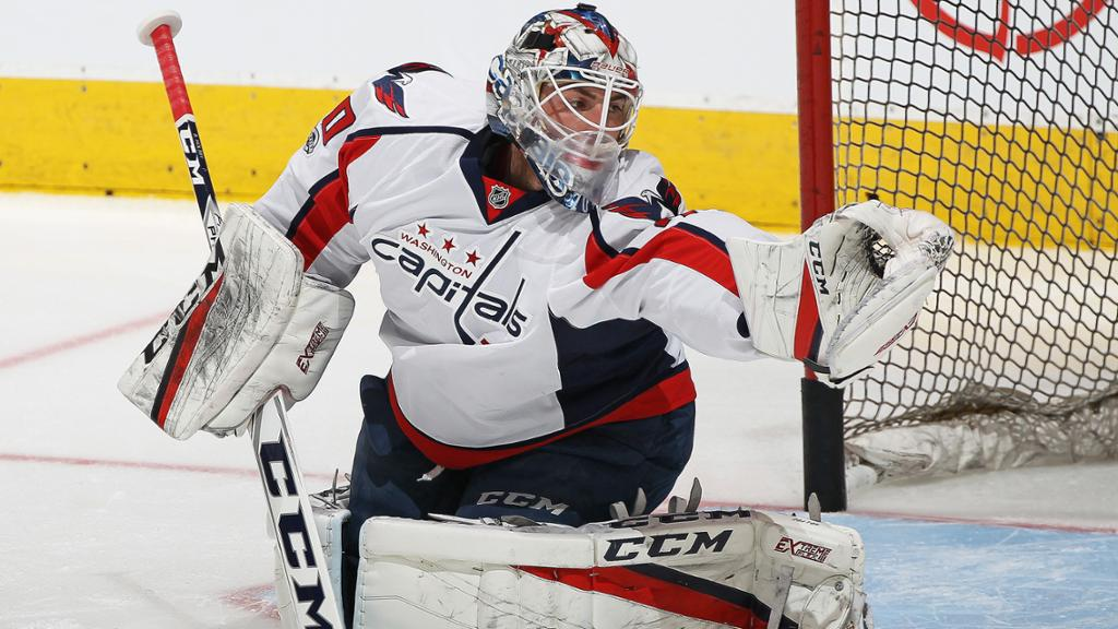 Braden Holtby Will Start Game 3 For Capitals Against Penguins