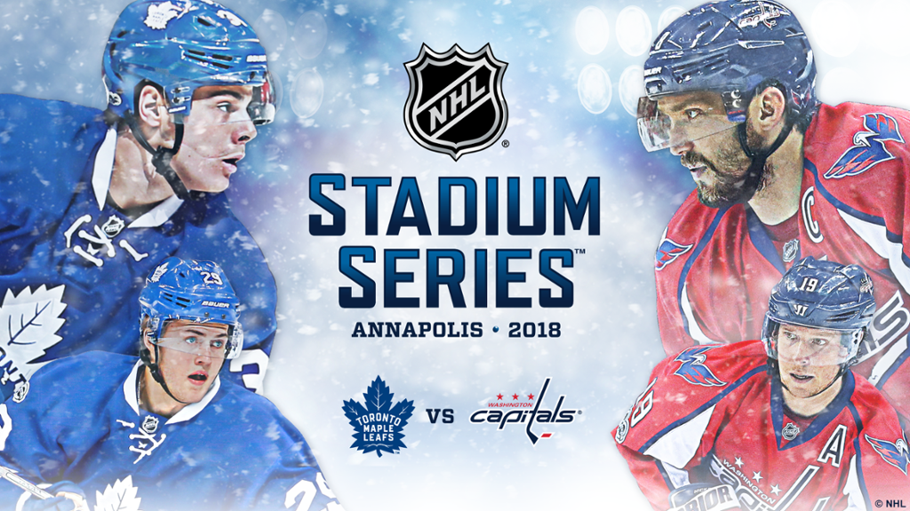 Capitals To Host Maple Leafs In 2018 Coors Light Nhl Stadium Series
