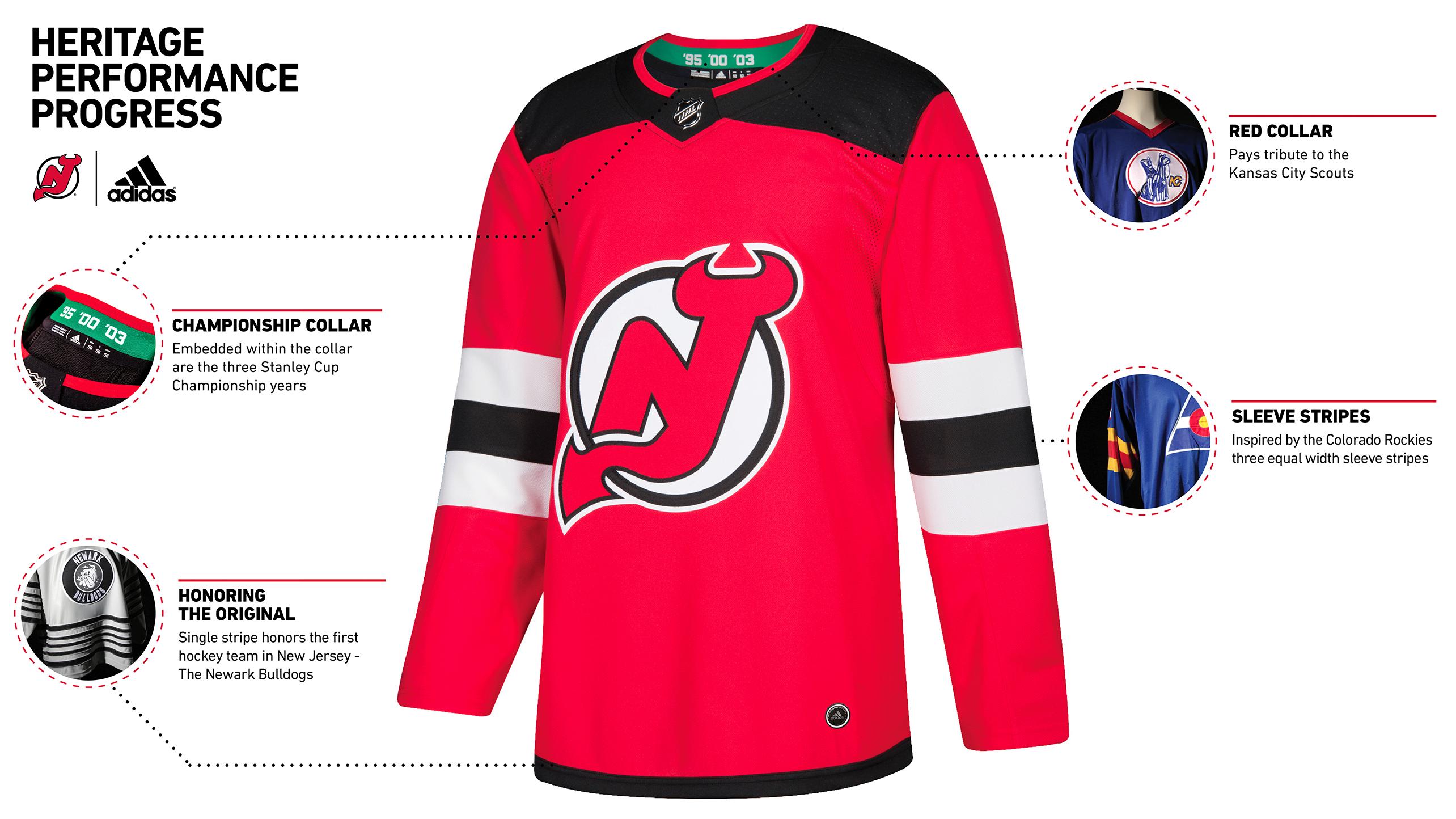 New Jersey Devils - Jersey Heritage