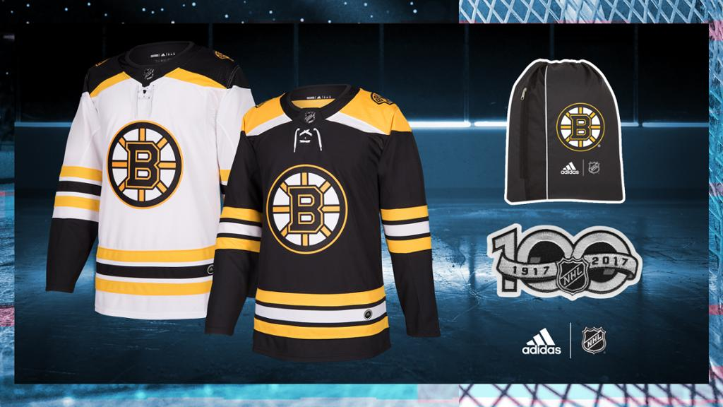 NHL and adidas Unveil the Boston Bruins New Uniforms