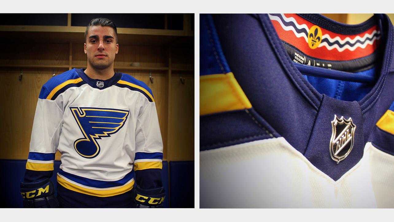 Blues unveil new adidas jersey for 2017-18 season