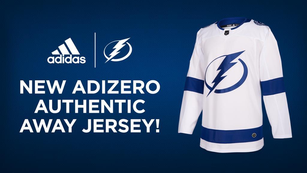 Lightning unveil new adidas road jersey