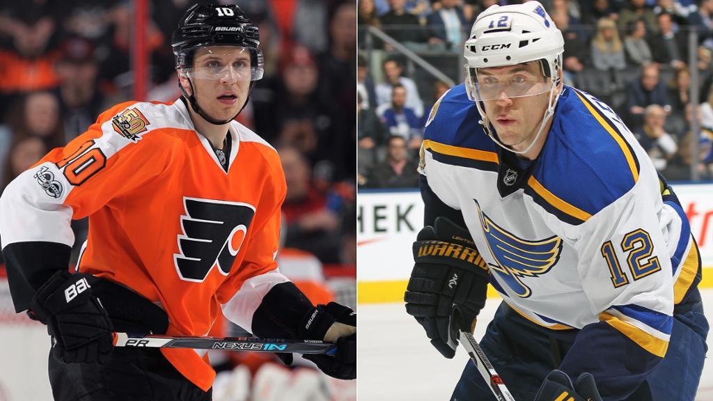 Brayden Schenn traded to Blues by Flyers for Jori Lehtera, picks
