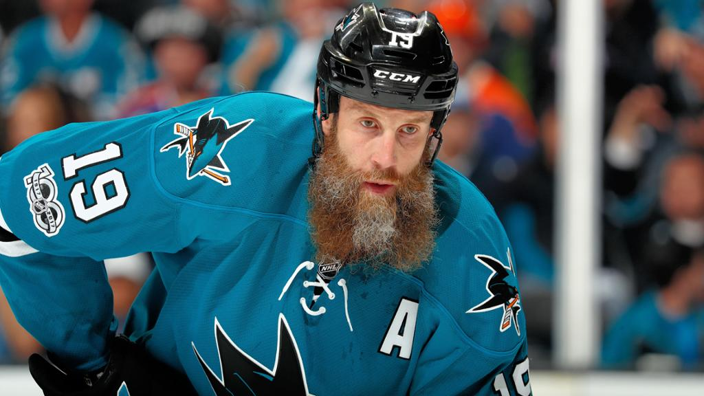 Joe Thornton returns to Sharks on one-year contract