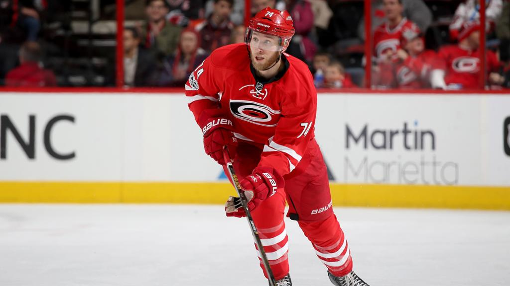 Jaccob Slavin agrees to seven-year contract extension with Hurricanes