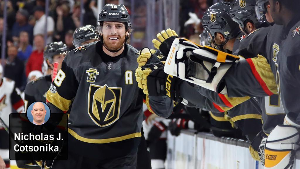 Neal has Golden Knights flying to begin inaugural season