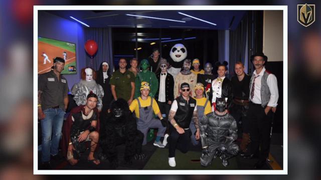 Vgk Halloween Party 2020 VGK Celebrates Halloween | NHL.com