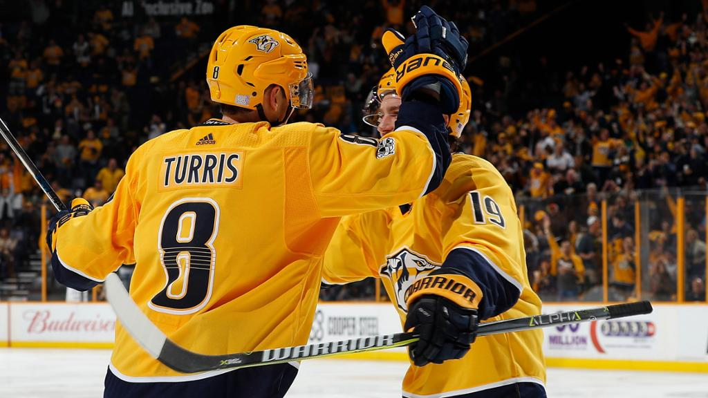 Turris Scores In Debut Preds Top Penguins In Shootout
