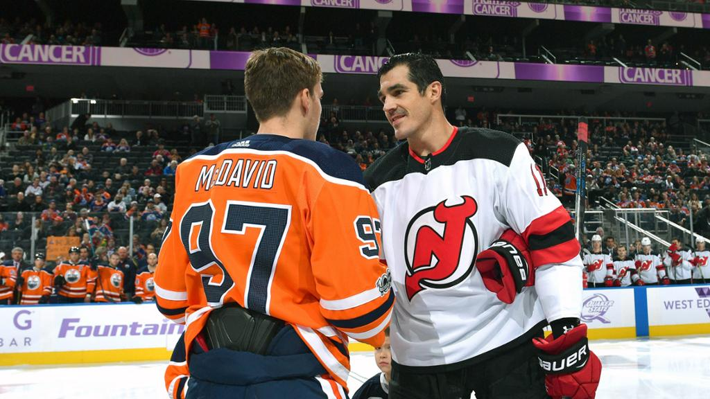 Boyle using platform with Devils to raise cancer awareness