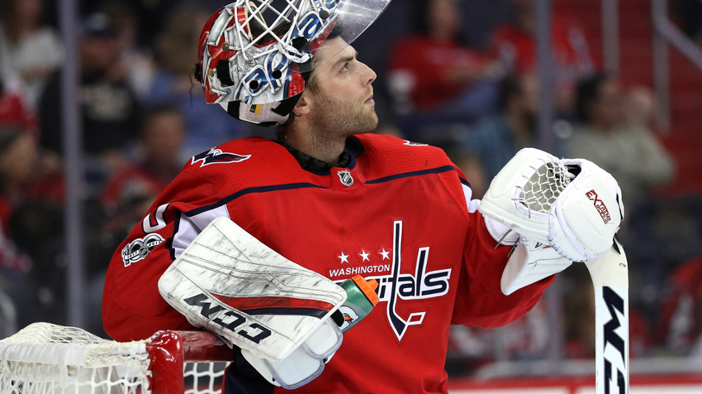 Braden Holtby Named Nhl S Third Star Of The Week