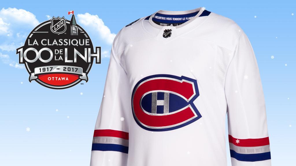 Devoilement Du Chandail Des Canadiens Pour La Classique 100 De La Lnh
