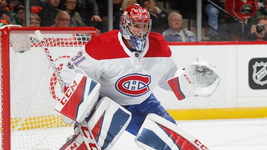 Price Returns To Practice With Canadiens