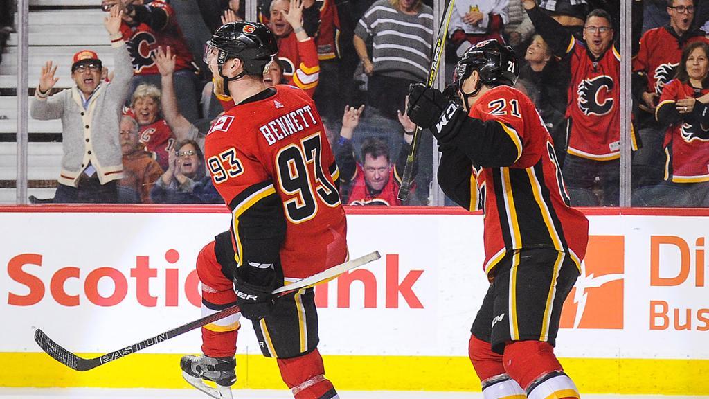 Bennett S Late Goal Lifts Flames Past Canucks