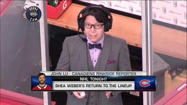 Nhl Tonight John Lu Nhl Com