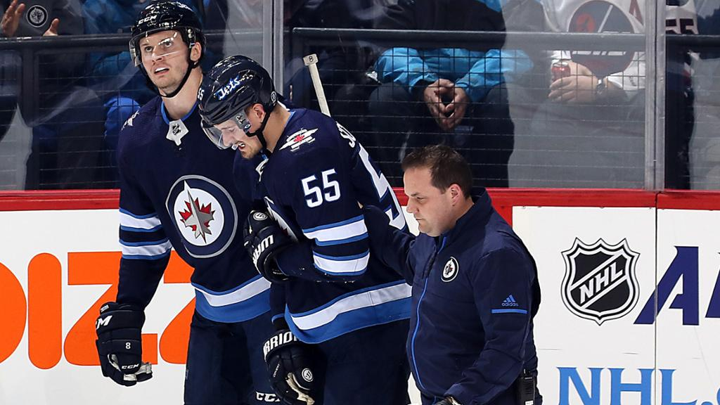 Scheifele Out 6 8 Weeks For Jets With Upper Body Injury