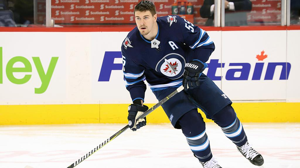 Scheifele Skates With Jets For First Time Since Injury