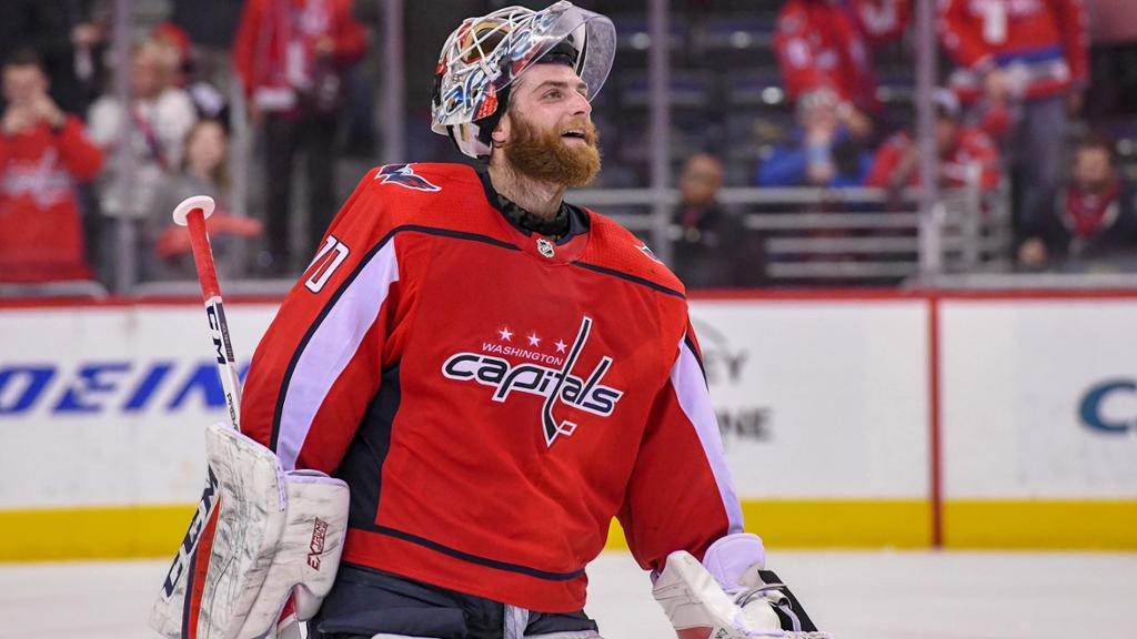Holtby Finds Capitals Gain As Ambassador