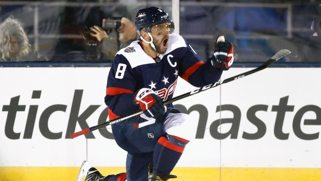 Ovechkin Scores 40th Capitals Top Maple Leafs In Stadium Series