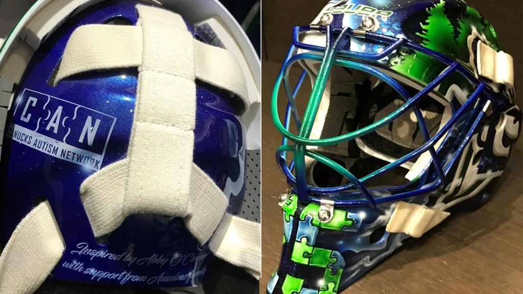 Markstrom Sports Special Mask For World Autism Awareness Day