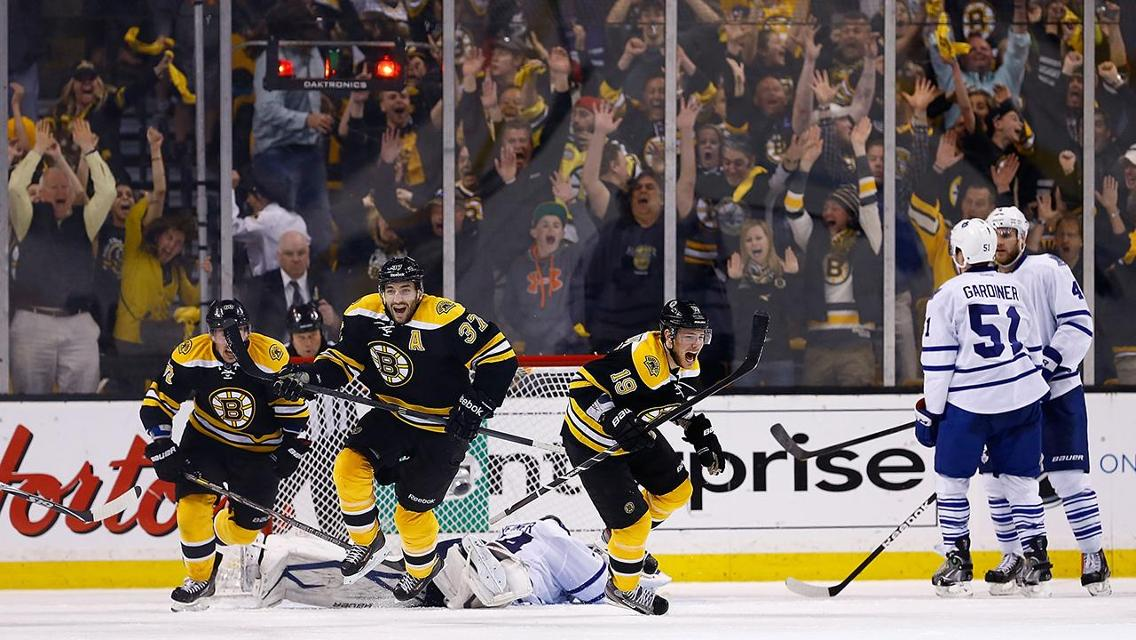 Game Of The Decade Bruins Stun Maple Leafs In Game 7 Of 2013 First Round