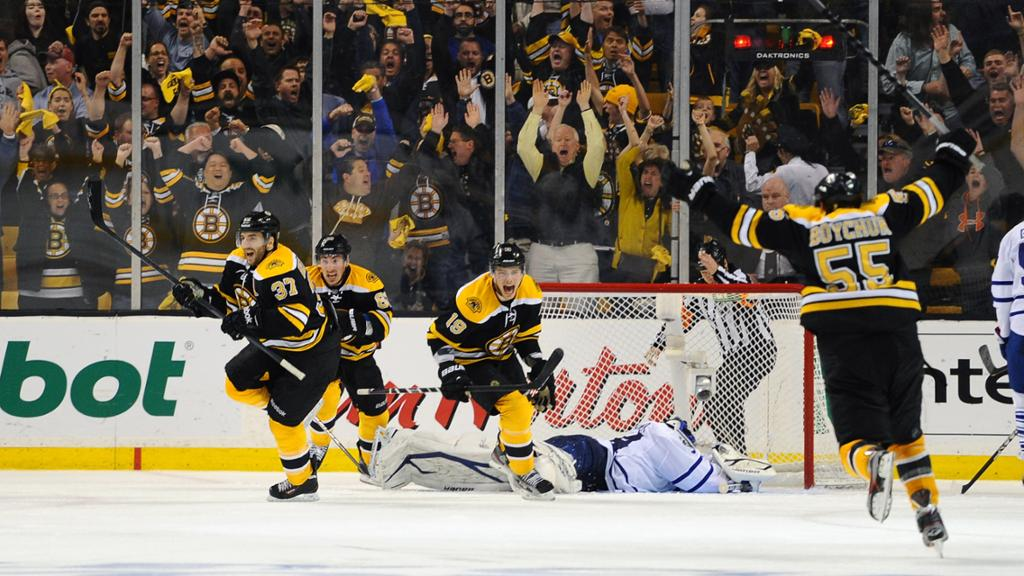 Bruins Game 7 Comeback Vs Maple Leafs In 2013 Revisited