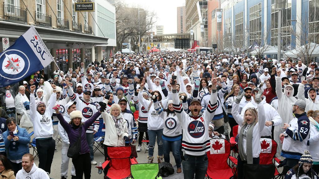 Winnipeg Whiteout Street Party Takes Flight Alongside Jets
