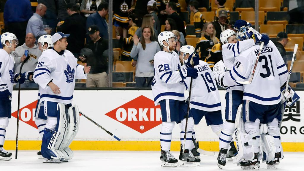Maple Leafs Extend Series With Game 5 Win Against Bruins