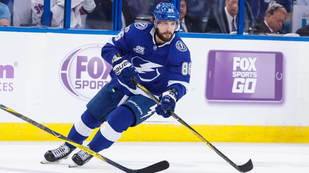 Lightning sign forward Nikita Kucherov to contract extension