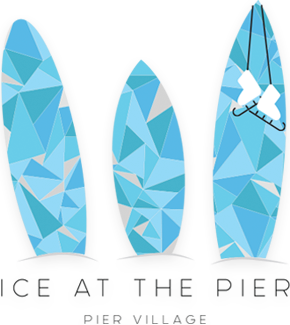 Ice at the Pier - Pier Village logo