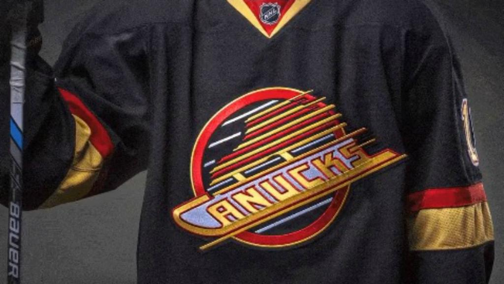 Canucks To Wear Spectacular Flying Skate Alternate Jersey For 50th Season