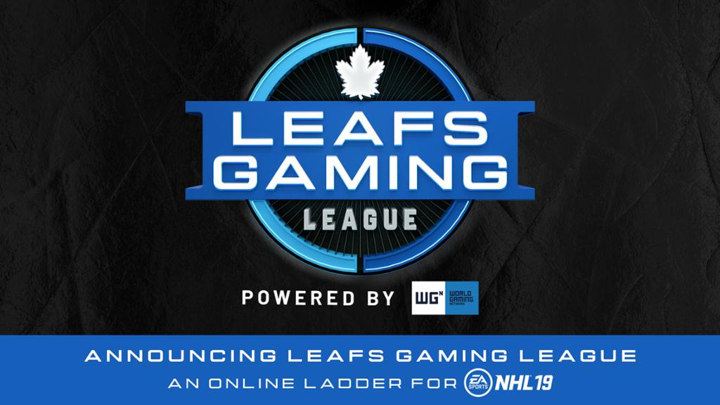 Leafs Gaming League Launches For Fans