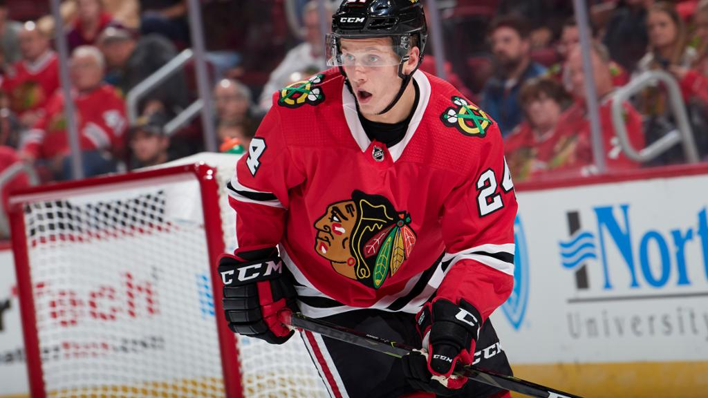 RELEASE: Blackhawks announce opening night roster