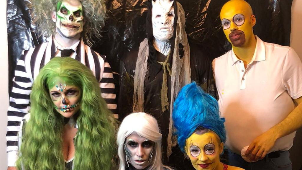 Halloween Party 2020 Ennis Mt BLOG: Oilers celebrate Halloween