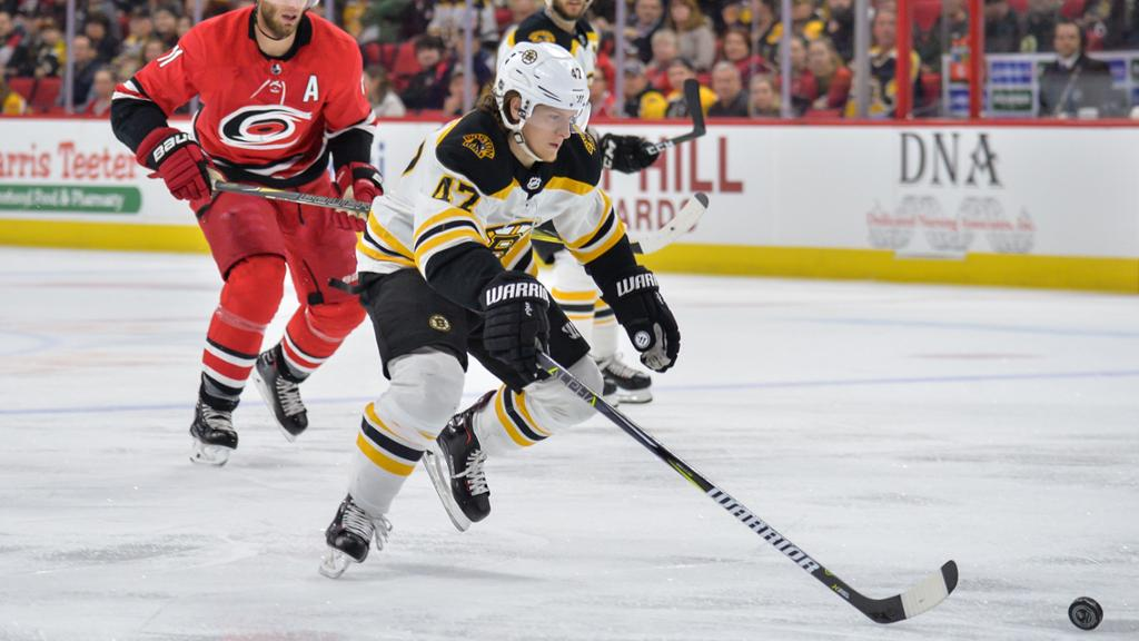 Torey Krug To Make 2018 19 Debut In Carolina