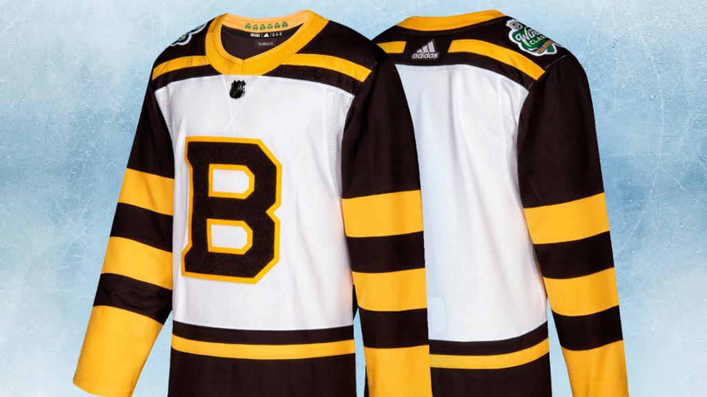 Bruins Winter Classic Sweater Invokes History, Tradition