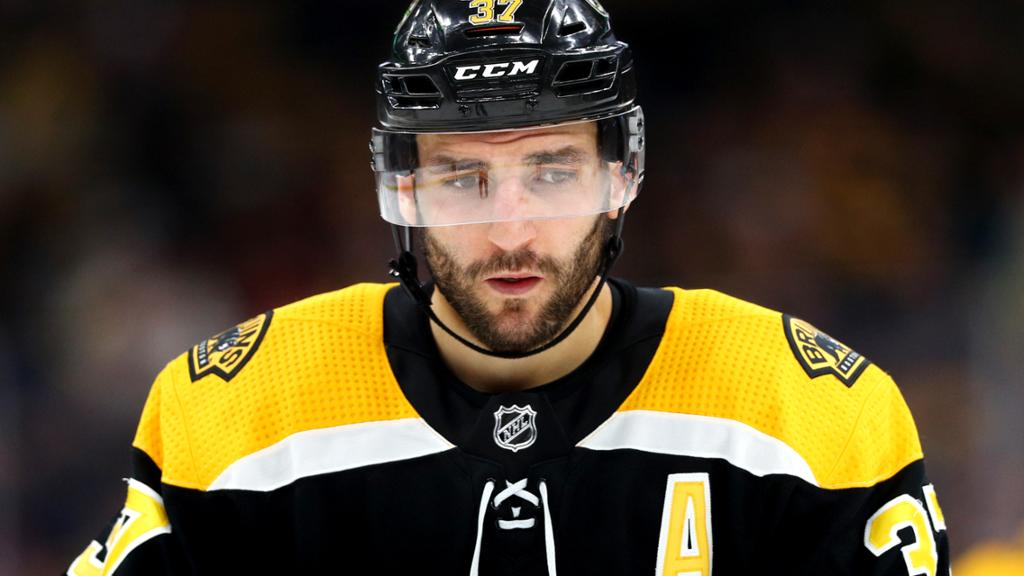 Bruins Issue Update On Patrice Bergeron