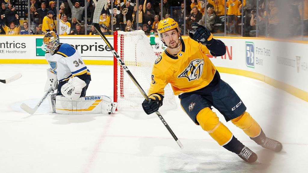 Nashville Predators Set 2019-20 Opening Night Roster | NHL.com